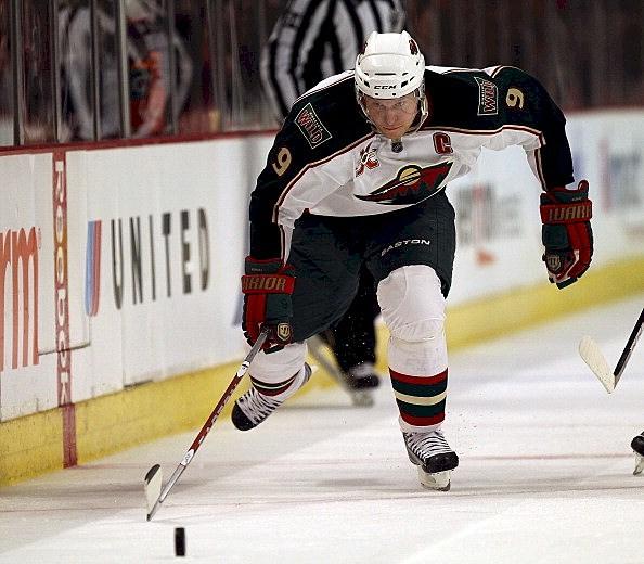 The Minnesota Wild's Mikko Koivu